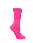 Pink Crew Socks by Pearsox Neon