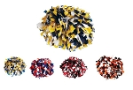 Pizzazz 3-Color Plastic Pom Poms