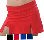 Pizzazz A-Line Cover Stitch Cheer/Dance Skort