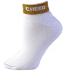 Cheer Anklet Socks by Pizzazz