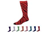 Zebra Socks by Pizzazz - Stripe Knee High Socks