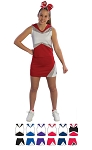 Pizzazz Premier Cheerleading Uniform Shell and Skirt