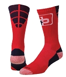 Custom Logo Crew Socks  by Profeet (Style 1st and Goal)