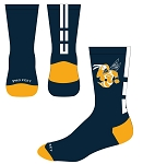 Custom Logo Crew Socks by Profeet  (Bee)