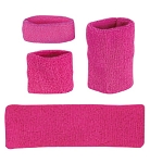 Pink Headbands, Wristbands, Arm Bands by Profeet