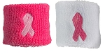 Profeet Pink Ribbon Sports Wristbands