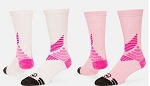 Pink All Sport Crew Socks by Red Lion