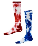 Closeout Red Lion Tie Dye Compression Socks