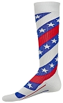 Red Lion America Stars and Stripes Compression socks