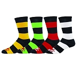 Red Lion Killer Bumble Bee Crew Socks