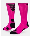 Triumph Pink Crew Socks by Red Lion
