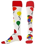 Red Lion Balloons Knee HIgh Socks