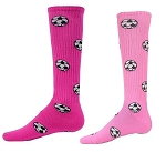 Pink Soccer Ball Socks by Red Lion