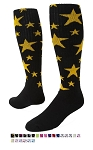 Star Knee High Crazy Socks by Red Lion