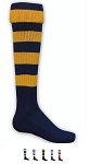 Hoop Rugby Bumble bee Knee High Socks by Red Lion