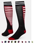 Closeout Red Lion Zipper Knee High Socks