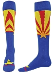Red Lion Arizona Flag Knee High Socks