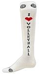 Red Lion I Love Volleyball Knee High Socks