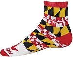 Red Lion Baltimore Quarter Socks