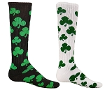 Red Lion Shamrock Knee High Socks
