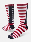 Team USA Stars and Stripes Crew Socks by Red Lion