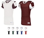 Game Football Jersey by Russell Athletic - Color Block Style 2