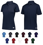 Polo Shirt with Sun Protection by Russell - Dri-Power Essential