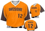 Custom Baseball Jerseys by Prosphere Sublimated  (Frozen Rope)
