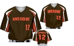 Custom Baseball Jerseys by Prosphere Sublimated (High Heat)