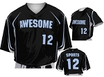 Custom Baseball Jerseys by Prosphere Sublimated (No Hitter)