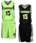 Custom Reversible Basketball Uniforms Men/Women (Baseline)