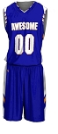 Custom Basketball Uniforms Men/Women by Prosphere (Chevron)