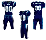 Custom Football Uniforms by Prosphere  (Curl Route)