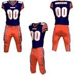 Custom Football Uniforms by Prosphere (End Zone)