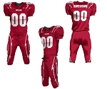 Custom Football Uniforms by Prosphere (Storm)