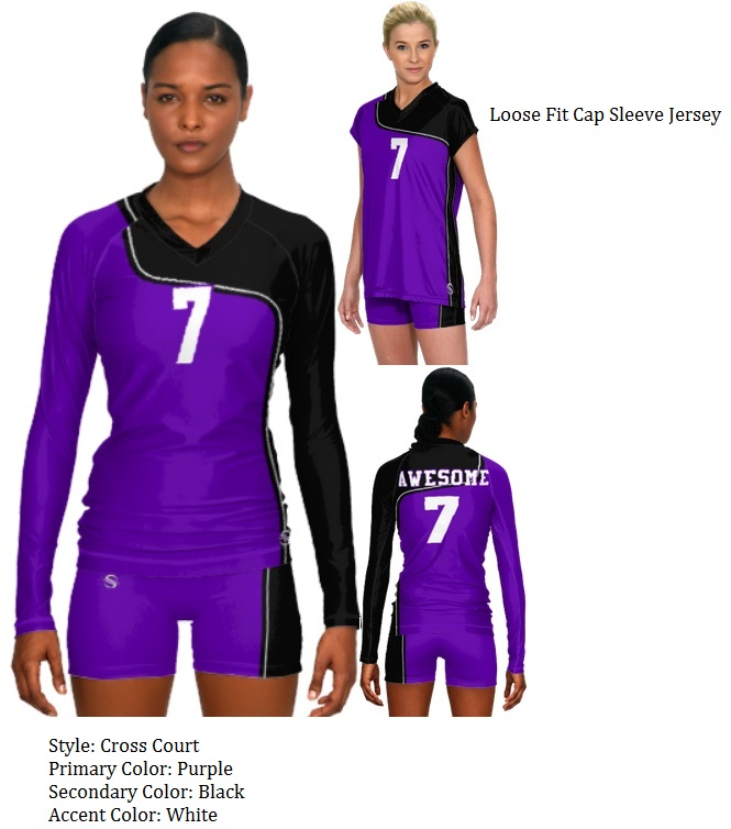 Prosphere cross Teamwork Volleyball Custom Uniforms Court ccacceceddcab|Within The NFL Title Game