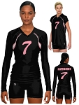 Teamwork Sublaminated Custom Volleyball Uniforms (Ace)