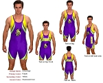 Teamwork Custom Wrestling Singlet (Advantage)