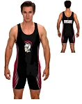 Teamwork Custom Wrestling Singlet (Crush)