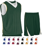 Teamwork Finger Roll Reversible Basketball Uniforms Jersey and Short