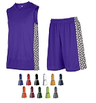 Teamwork Mettle Basketball Uniforms Jersey and Short