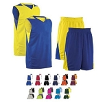 Teamwork Turnaround Reversible Basketball Uniforms Jersey and Shorts
