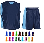 Teamwork Dazzler Basketball Uniforms Short and Reversible Jersey