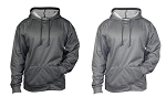 Pro Heather Fleece Hood by Badger Sports
