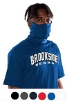 Athletic Tee with attached face mask - 2B1 Tee By Badger