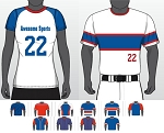 Champro Juice Custom Quick Ship Crew Neck Jerseys Sublimated