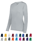Long Sleeve V-Neck Jerseys by Holloway-Momentum Ladies and Girls