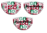 Custom Holiday Face Masks by Prosphere (Wrapping Paper)