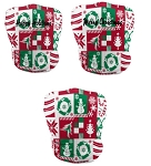 Custom Holiday Gaiter Face Masks by ProSphere (Wrapping Paper)