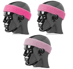 Pink Headbands - Sweatbands by Twin City